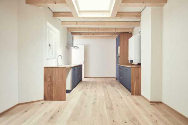 Küche Privathaushalt Linoleumfronten 1